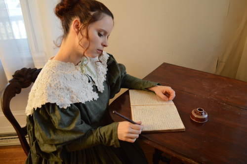 Harriet at desk copy