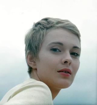 "Jean Seberg ""La Récréation"" by Peter Basch 1961 cropped"